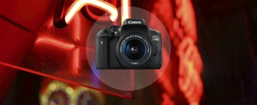 Canon EOS 750D mit Objektiv EF-S 18-55mm 3.5-5.6 IS STM (0592C022)
