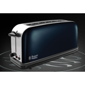 Russell Hobbs Colours Royal Blue Langschlitz-Toaster (21394-56)