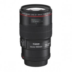 Canon Objektiv EF 100mm 2.8 L Makro IS USM (3554B011)