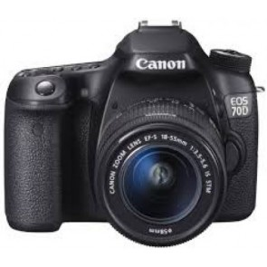 Canon EOS 70D (SLR) mit Objektiv EF-S 18-55mm 3.5-5.6 IS STM (8469B032)