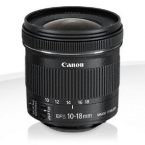 Canon Objektiv EF-S 10-18mm 4.5-5.6 IS STM (9519B005)