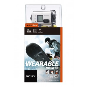 Sony HDR-AS100VW Wearable Mount Kit (HDRAS100VW.CEN)